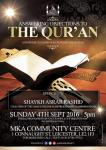 Answering the objections to the Glorious Quran